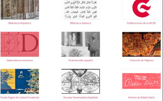 Colecciones de la Biblioteca Digital de la AECID