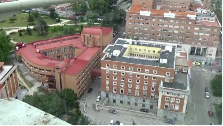 Vista aérea del Instituto de Cultura Hispánica